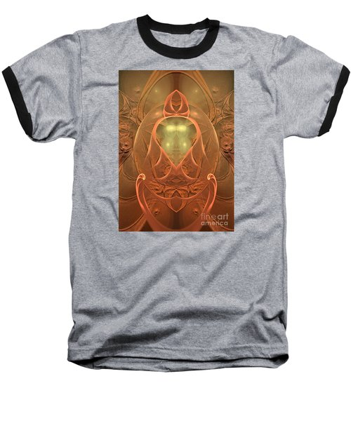 Baseball T-Shirt featuring the digital art Nirvana by Sipo Liimatainen