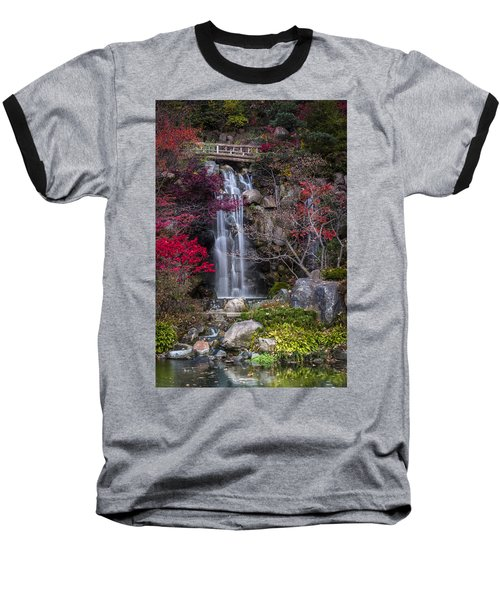 Baseball T-Shirt featuring the photograph Nishi No Taki by Sebastian Musial