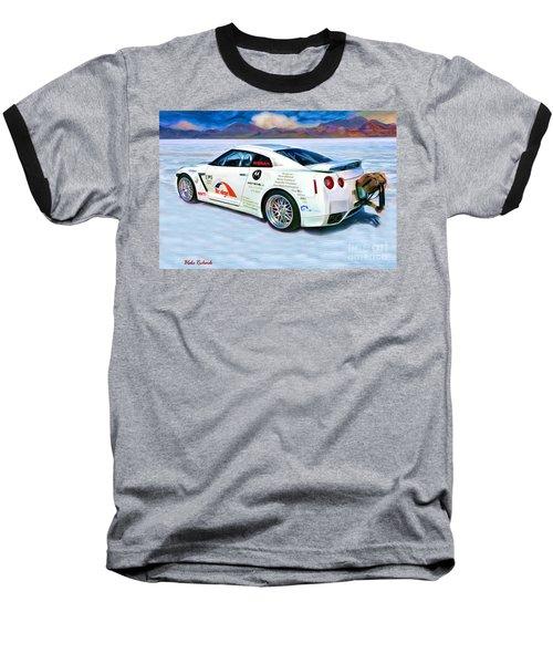 Nissan Salt Flats Baseball T-Shirt