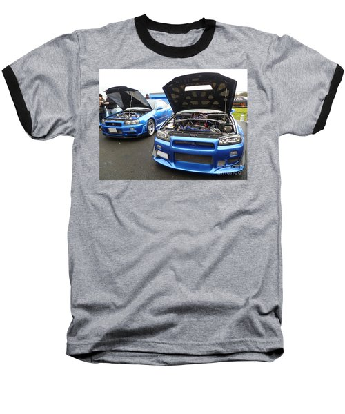 Nissan Skylines Baseball T-Shirt