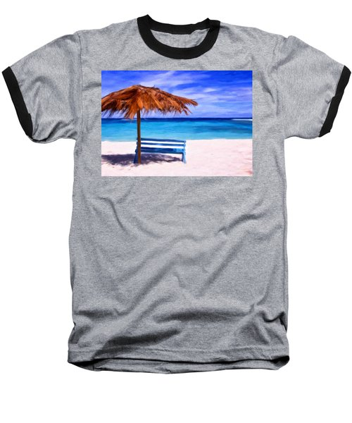 No Coronas Baseball T-Shirt