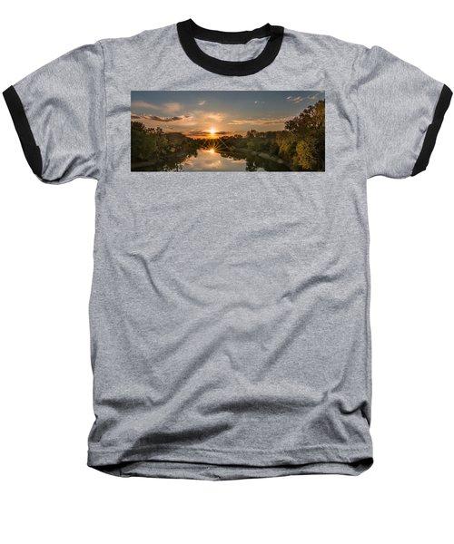 Mississippi Sunset Double Starburst Baseball T-Shirt
