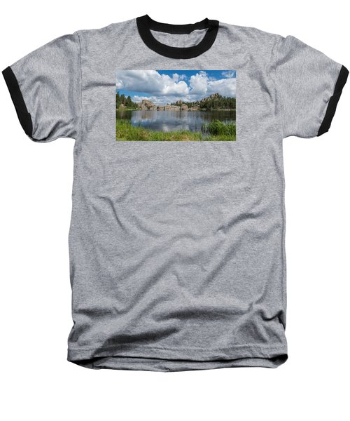 Sylvan Lake South Dakota Baseball T-Shirt by Patti Deters