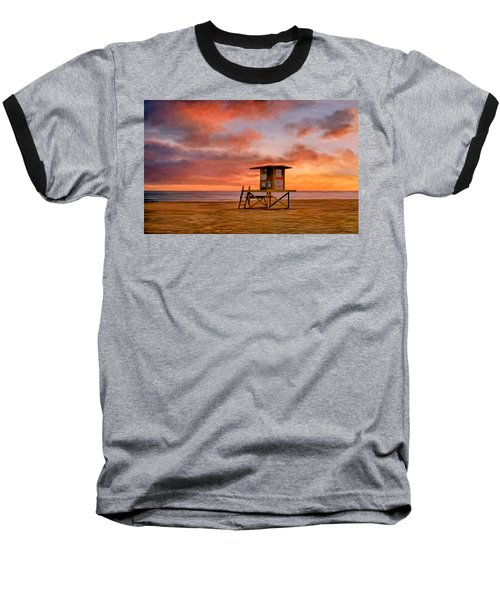 No Lifeguard On Duty At The Wedge Baseball T-Shirt