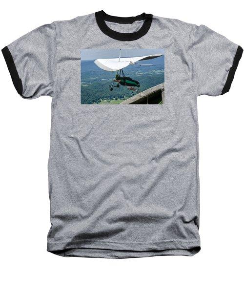 Baseball T-Shirt featuring the photograph No Turning Back by Susan  McMenamin