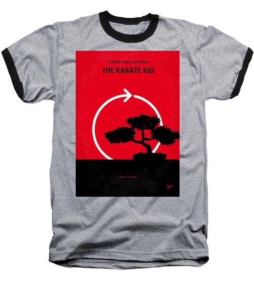 No125 My Karate Kid Minimal Movie Poster Baseball T-Shirt