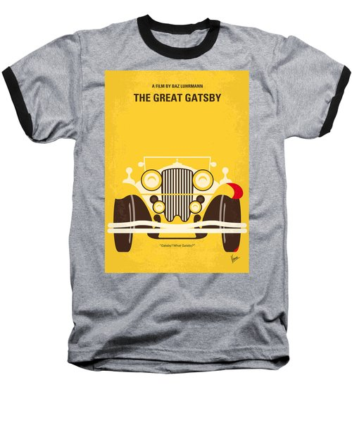 No206 My The Great Gatsby Minimal Movie Poster Baseball T-Shirt
