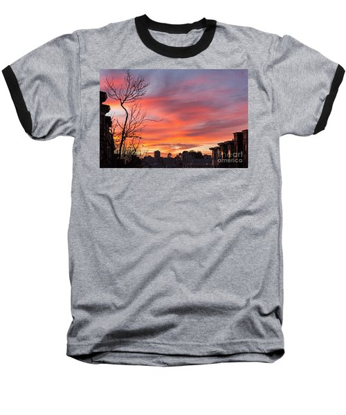 Nob Hill Sunset Baseball T-Shirt