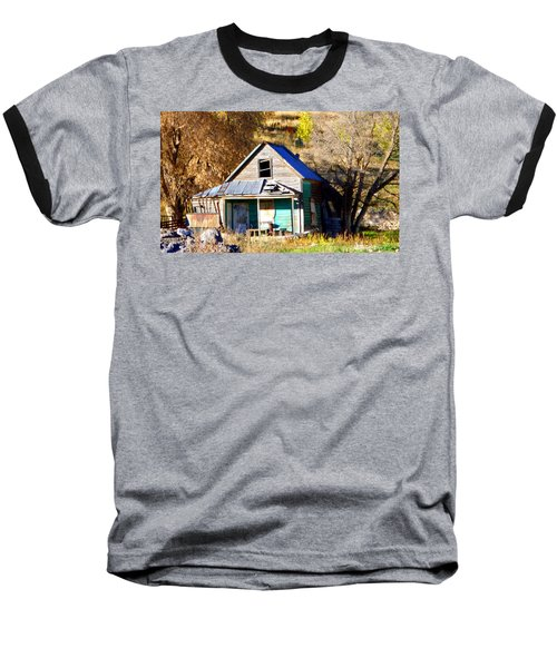 Baseball T-Shirt featuring the photograph Nobody's Home by Jackie Carpenter