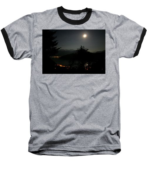 Nocturne In Switzerland Baseball T-Shirt