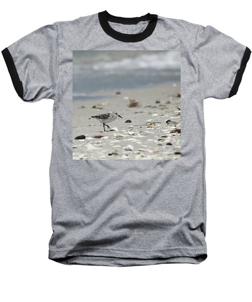 Nokomis Beach Piper Baseball T-Shirt