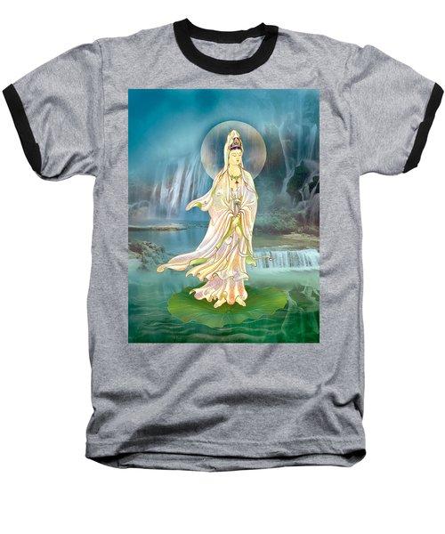 Non-dual Kuan Yin Baseball T-Shirt