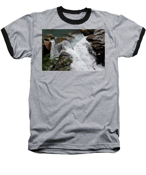 Nooksack Falls Baseball T-Shirt