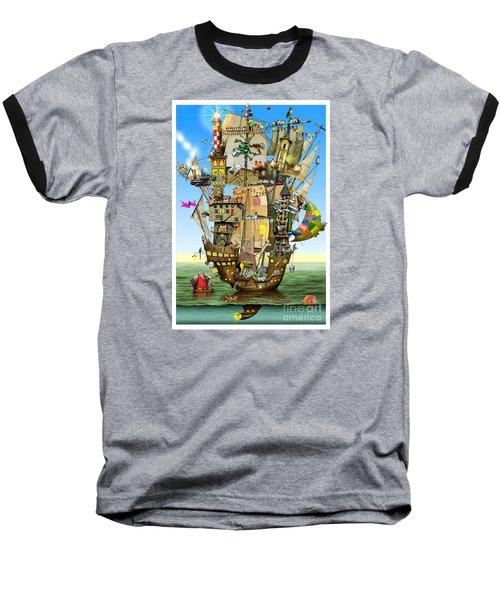 Norah's Ark Baseball T-Shirt by Colin Thompson