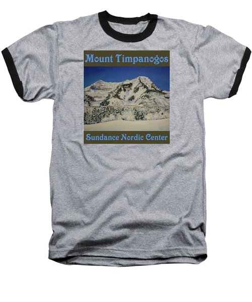 Nordic Timpanogos Poster Baseball T-Shirt