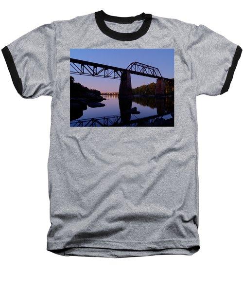 Twilight Crossing Baseball T-Shirt
