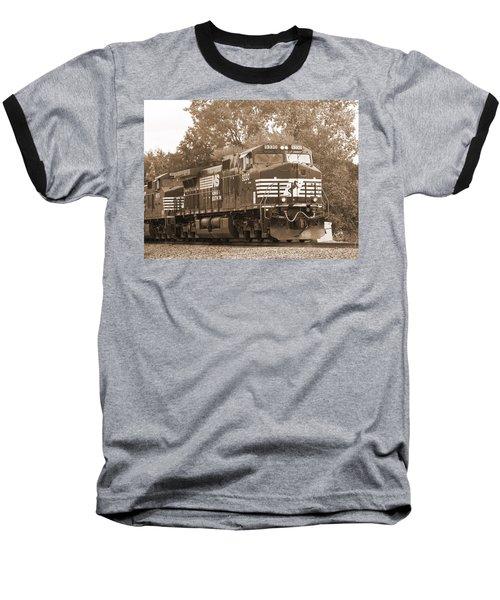 Norfolk Southern Freight Train Baseball T-Shirt