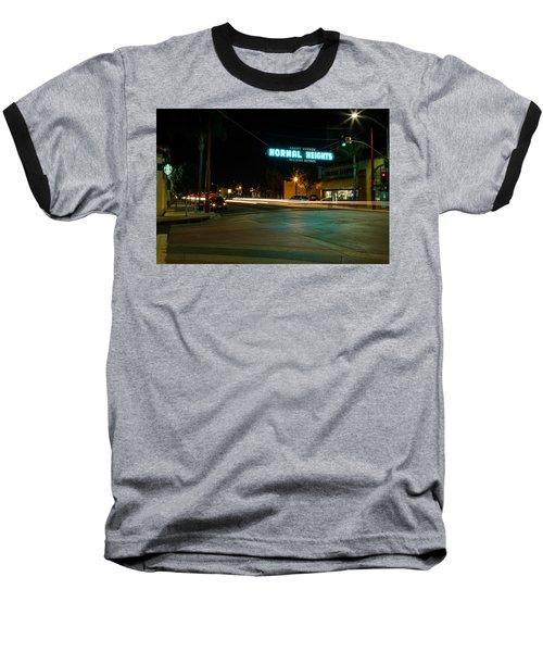Normal Heights Neon Baseball T-Shirt