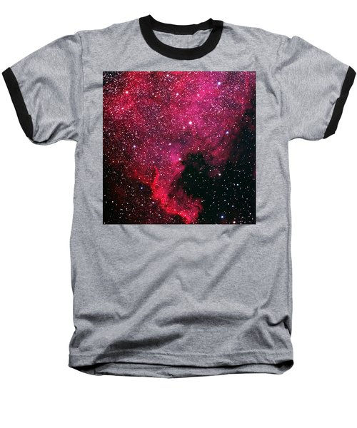 North American Nebula Baseball T-Shirt
