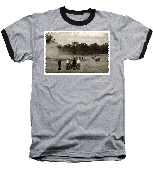 North And South Baseball T-Shirt by Beverly Stapleton