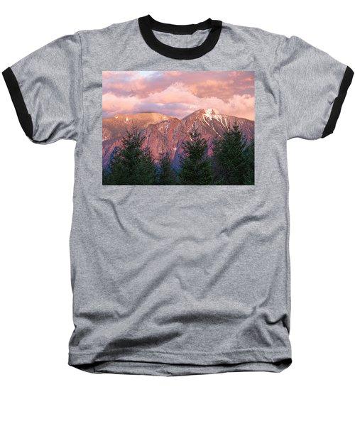 North Bend Washington Sunset 2 Baseball T-Shirt