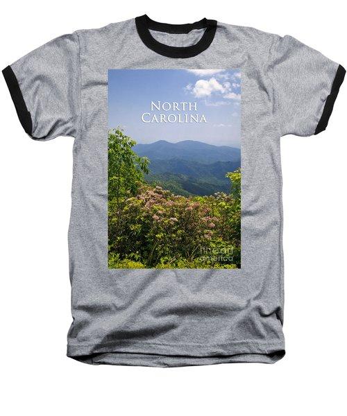 North Carolina Mountains Baseball T-Shirt