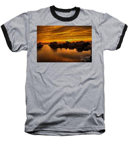 North Carolina Sunset Baseball T-Shirt