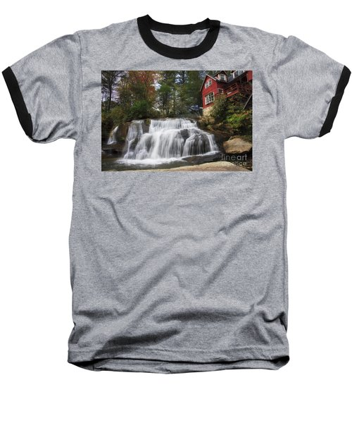 North Carolina Waterfall Baseball T-Shirt