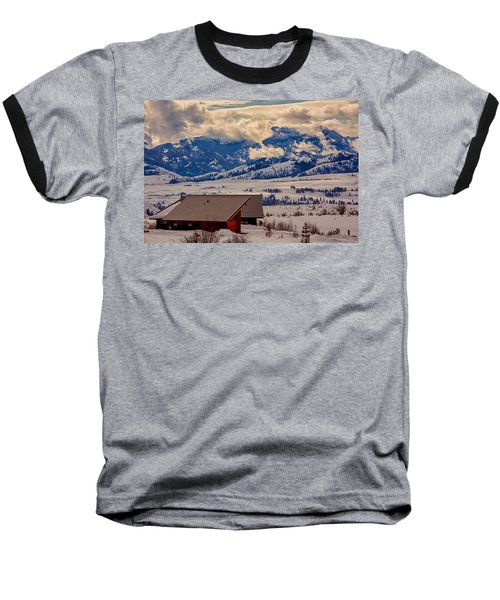 North Cascades Mountain View Baseball T-Shirt