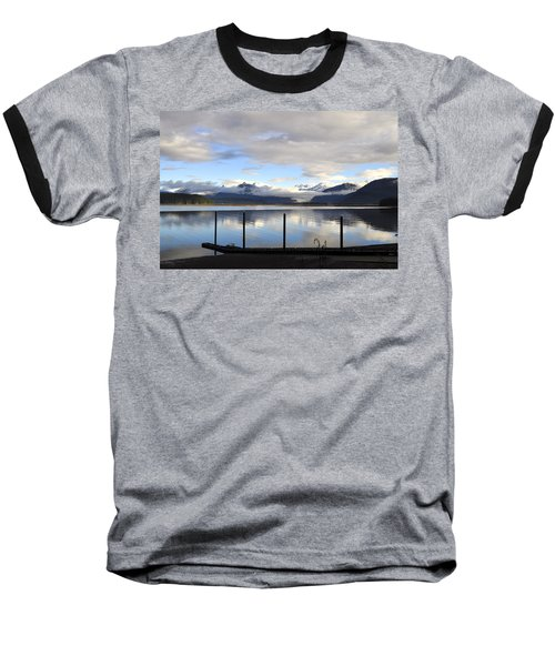 Baseball T-Shirt featuring the photograph North Douglas Reflections by Cathy Mahnke