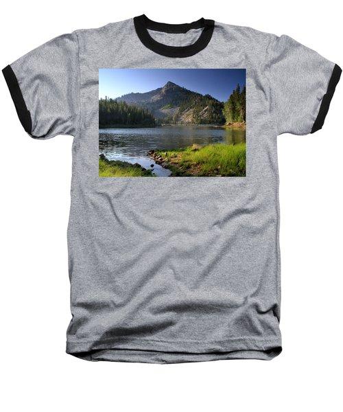 North Face Of Jughandle Mountain Baseball T-Shirt