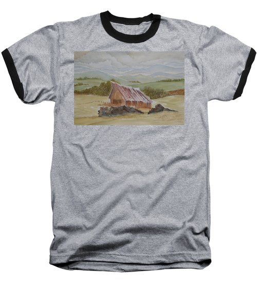 North Of Winnemucca Baseball T-Shirt by Joel Deutsch