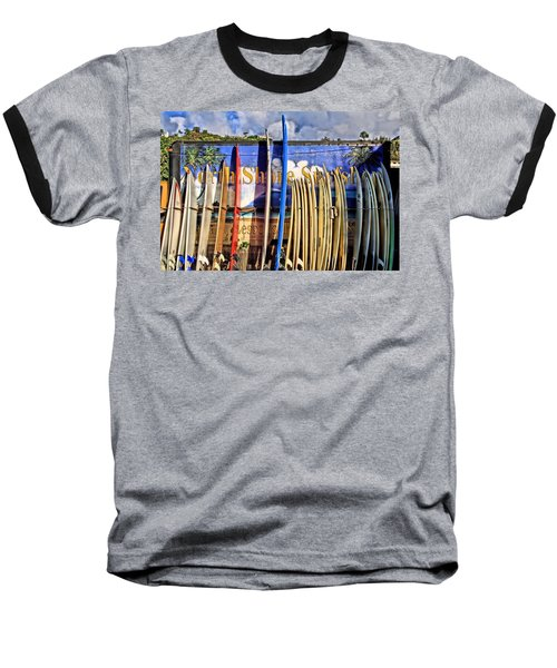 North Shore Surf Shop Baseball T-Shirt