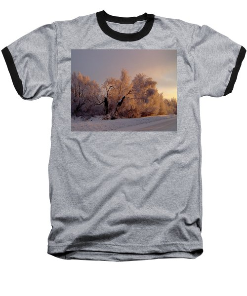 Baseball T-Shirt featuring the photograph Northern Light by Jeremy Rhoades