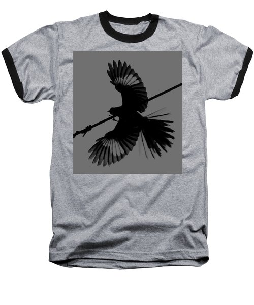 Baseball T-Shirt featuring the photograph Northern Mockingbird by Leticia Latocki