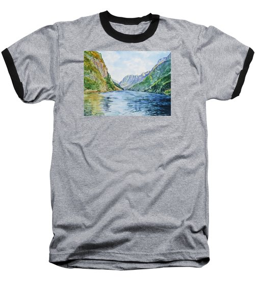 Norway Fjord Baseball T-Shirt