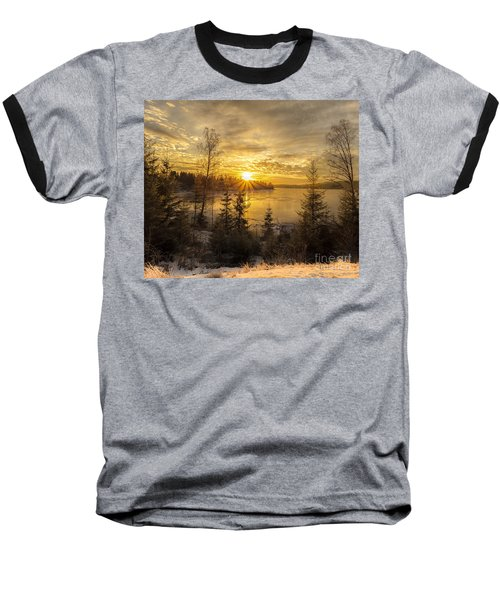 Baseball T-Shirt featuring the photograph Norway Hedmark by Rose-Maries Pictures