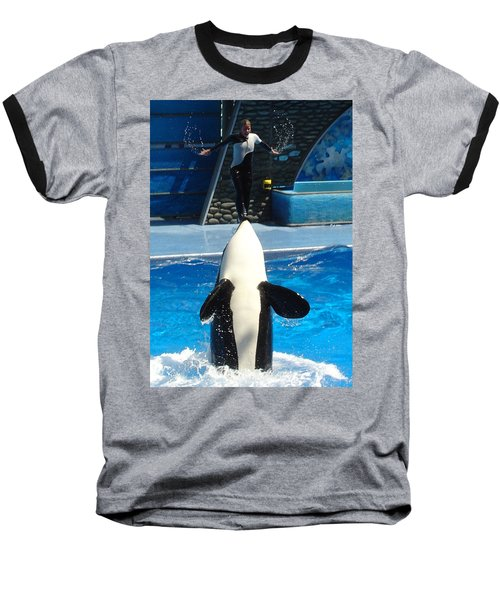 Baseball T-Shirt featuring the photograph Nose Dive by David Nicholls