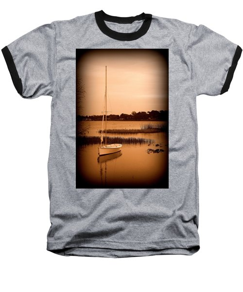 Baseball T-Shirt featuring the photograph Nostalgic Summer by Laurie Perry