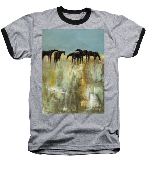 Not A Cloud In The Sky Baseball T-Shirt