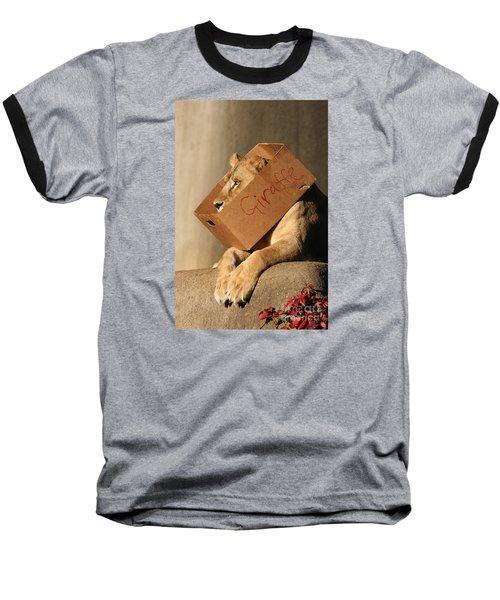 Not A Giraffe Baseball T-Shirt