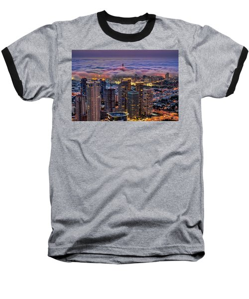 Baseball T-Shirt featuring the photograph Not Hong Kong by Ron Shoshani