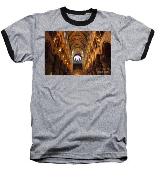 Notre Dame Ceiling Baseball T-Shirt