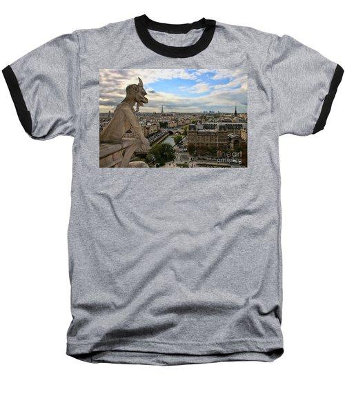 Notre Dame Gargoyle Baseball T-Shirt