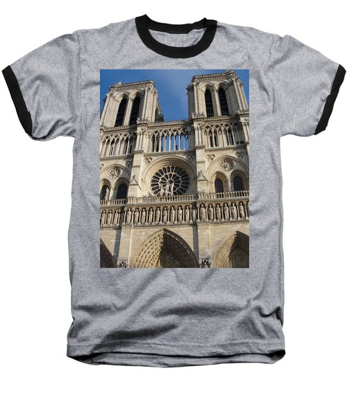 Baseball T-Shirt featuring the photograph Notre Dame by Tiffany Erdman