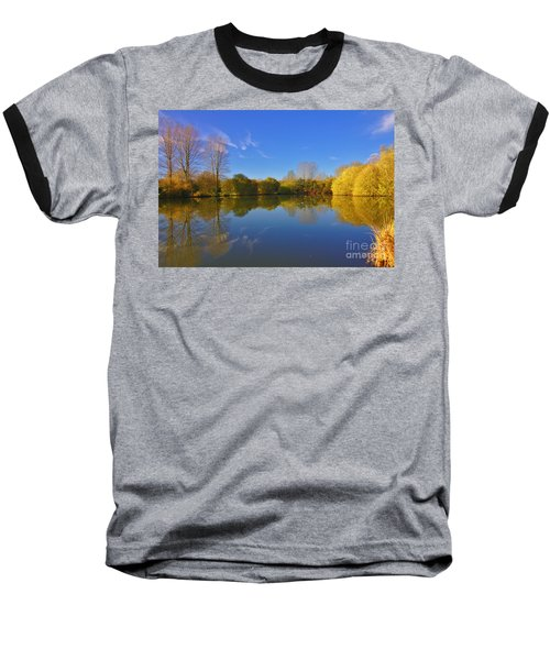November Lake 1 Baseball T-Shirt