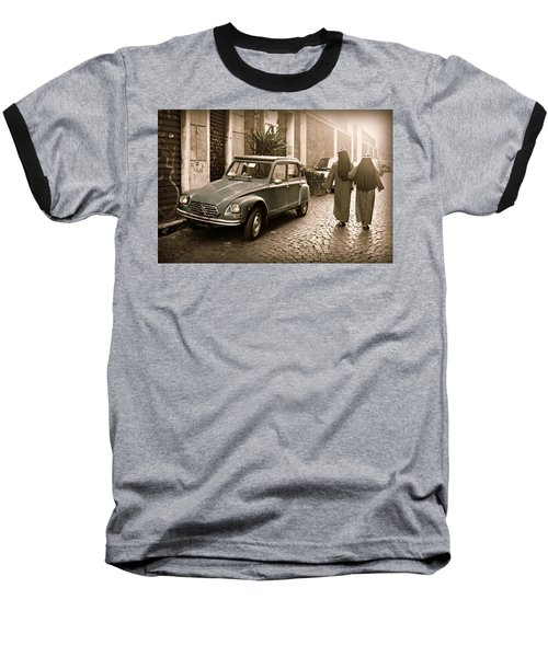 Nuns With Vintage Car Baseball T-Shirt
