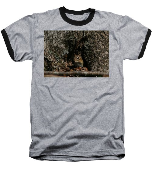 Nut Therapy  Baseball T-Shirt by Neal Eslinger
