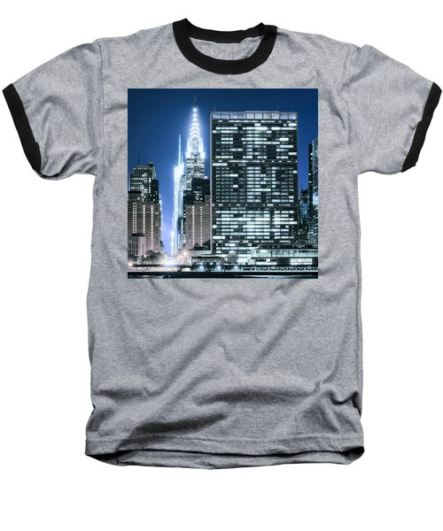 Baseball T-Shirt featuring the photograph Ny Sights by Theodore Jones