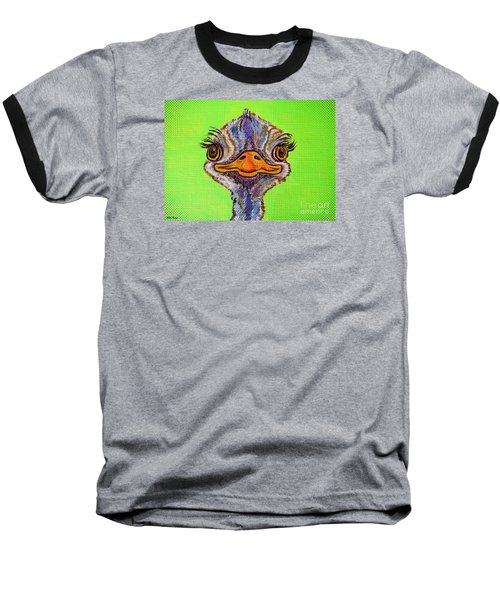 O For Ostrich Baseball T-Shirt